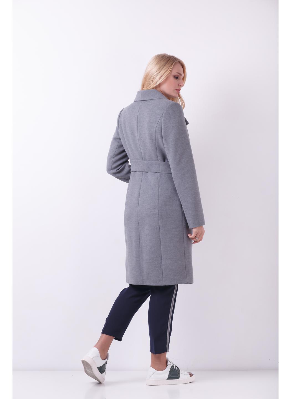 Женское Демисезонное Пальто Валерия Шерсть Меланж серый купить в Украине: фото, цена, характеристики, отзывы - фото 2
