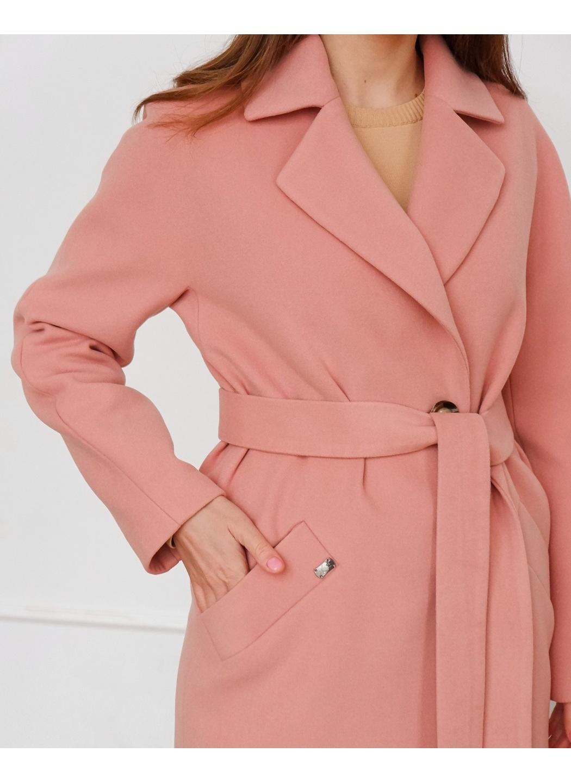 Женское Демисезонное Пальто Лаванда Кашемир Пудра купить в Украине: фото, цена, характеристики, отзывы - фото 2