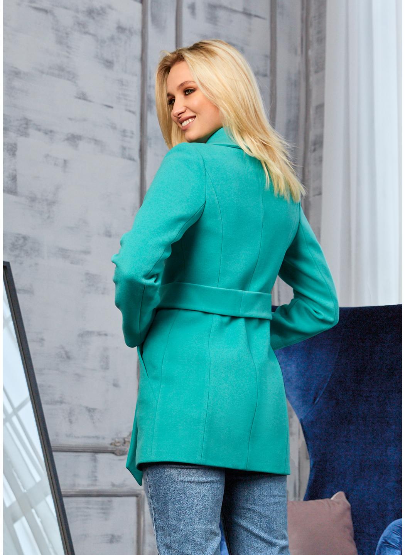 Женское Демисезонное Пальто Лера Кашемир Мятный купить в Украине: фото, цена, характеристики, отзывы - фото 2