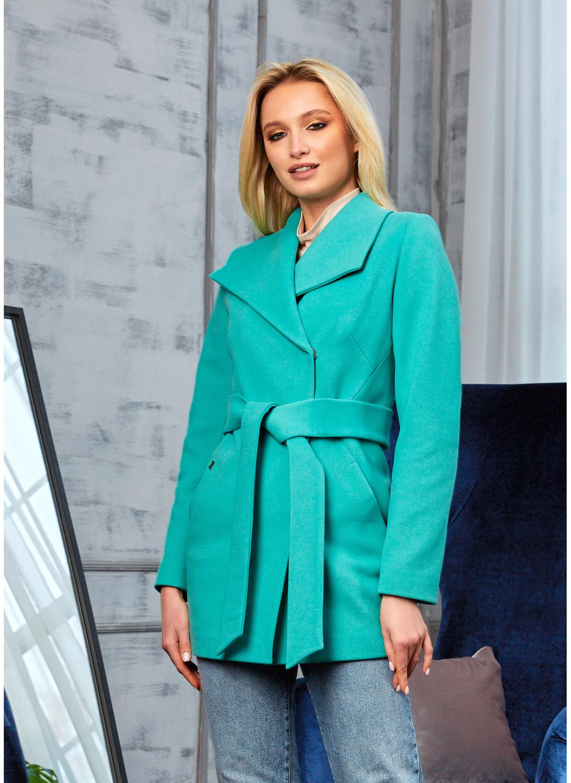 Женское Демисезонное Пальто Лера Кашемир Мятный купить в Украине: фото, цена, характеристики, отзывы - фото 1