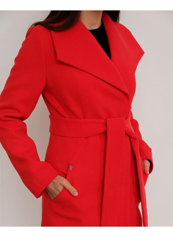 Женское Демисезонное Пальто Лера Кашемир Коралл купить в Украине: фото, цена, характеристики, отзывы - фото 2