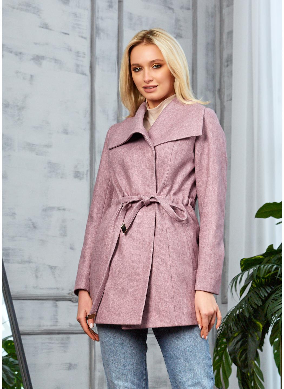 Женское Демисезонное Пальто Мадрид Кашемир Розовый купить в Украине: фото, цена, характеристики, отзывы - фото 1