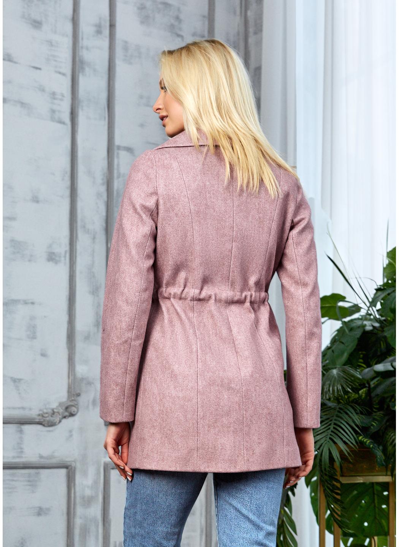 Женское Демисезонное Пальто Мадрид Кашемир Розовый купить в Украине: фото, цена, характеристики, отзывы - фото 2