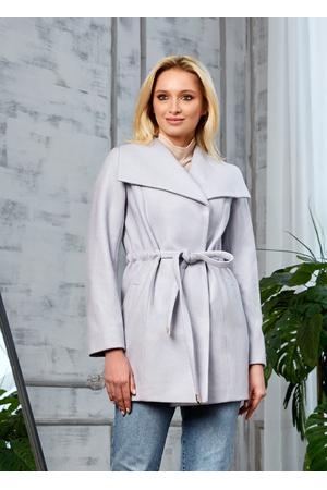 Женское Демисезонное Пальто Мадрид Кашемир Светло-серый