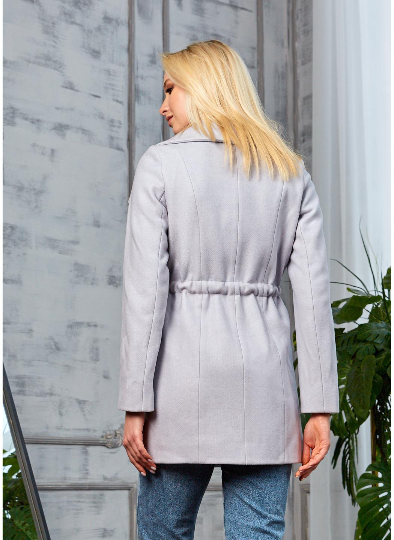 Женское Демисезонное Пальто Мадрид Кашемир Светло-серый купить в Украине: фото, цена, характеристики, отзывы - фото 2