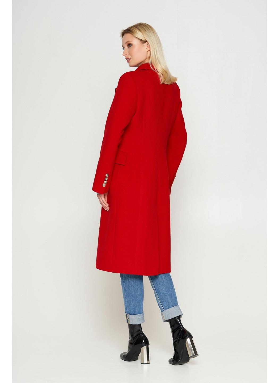 Женское Демисезонное Пальто Монако Кашемир Красный купить в Украине: фото, цена, характеристики, отзывы - фото 2
