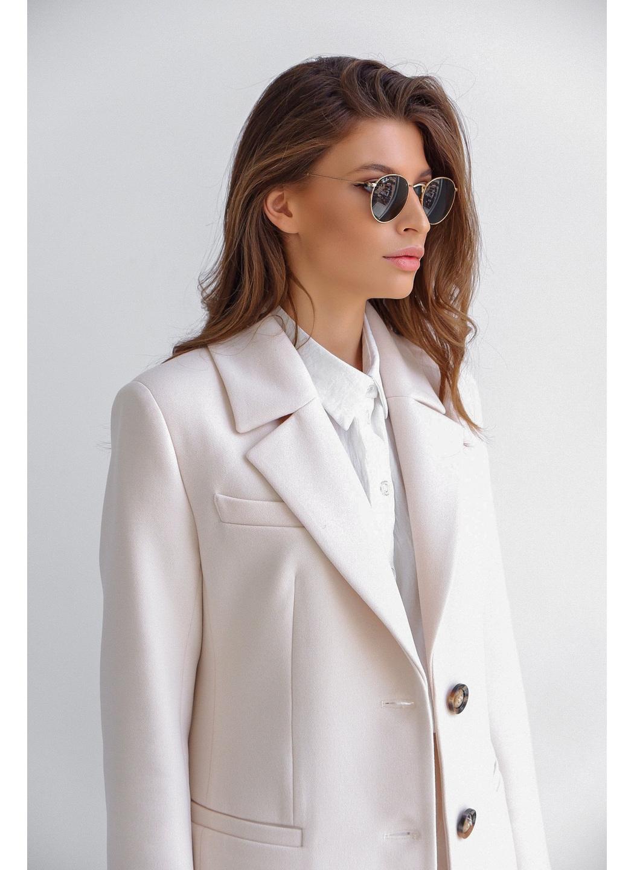 Женское Демисезонное Пальто Софи Кашемир Жемчуг купить в Украине: фото, цена, характеристики, отзывы - фото 4