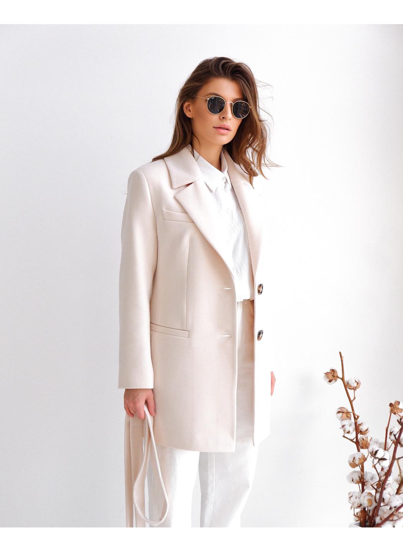 Женское Демисезонное Пальто Софи Кашемир Жемчуг купить в Украине: фото, цена, характеристики, отзывы - фото 1