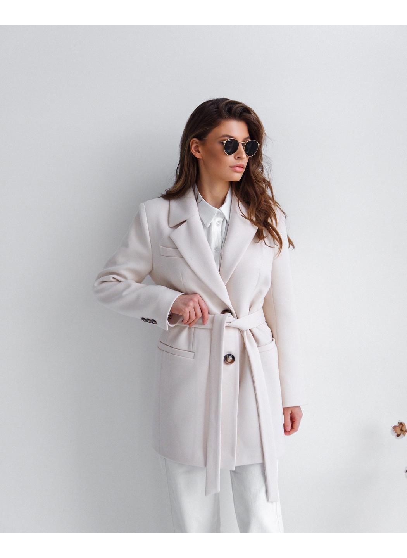 Женское Демисезонное Пальто Софи Кашемир Жемчуг купить в Украине: фото, цена, характеристики, отзывы - фото 2