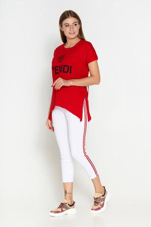 футболка красный 404