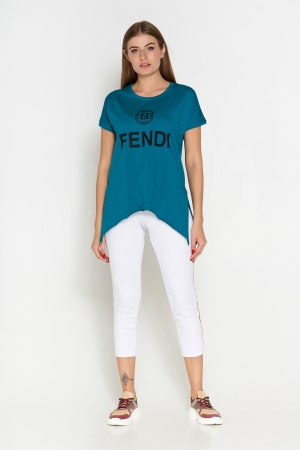 футболка синий 407