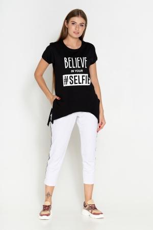 футболка черный 410