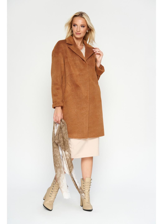 Женское Демисезонное Пальто Орнелла Шерсть Camel купить в Украине: фото, цена, характеристики, отзывы