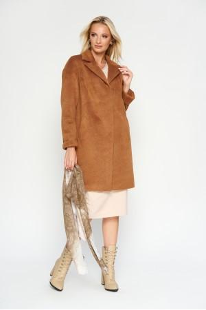 Пальто Орнелла, деми, camel