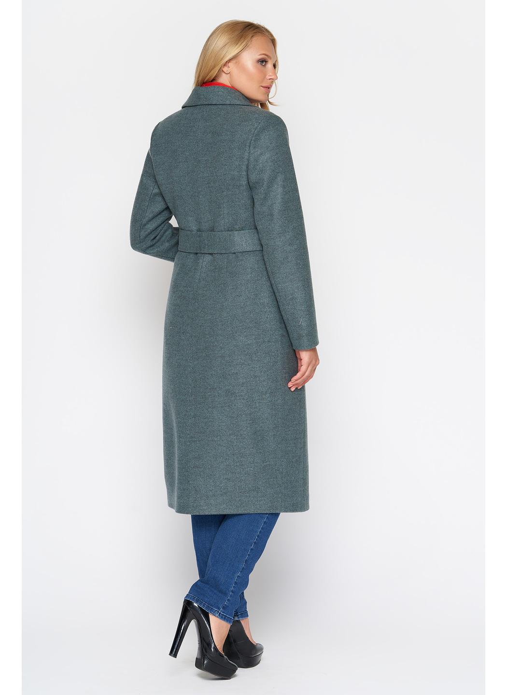 Женское Демисезонное Пальто Мария Шерсть Оливковый купить в Украине: фото, цена, характеристики, отзывы - фото 3
