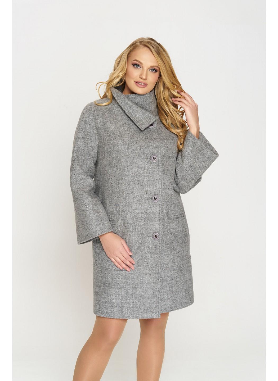 Пальто Лайма, шерсть, серый купить в Украине: фото, цена, характеристики, отзывы - фото 1