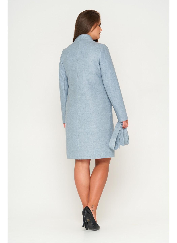Женское Демисезонное Пальто Венеция Шерсть Бледно-голубой купить в Украине: фото, цена, характеристики, отзывы - фото 2