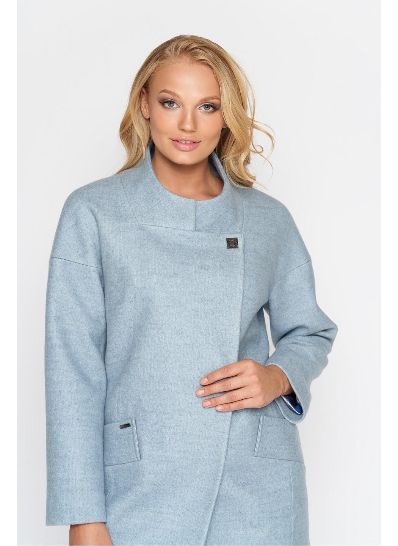 Пальто Мика, шерсть, бледно - голубой купить в Украине: фото, цена, характеристики, отзывы - фото 1