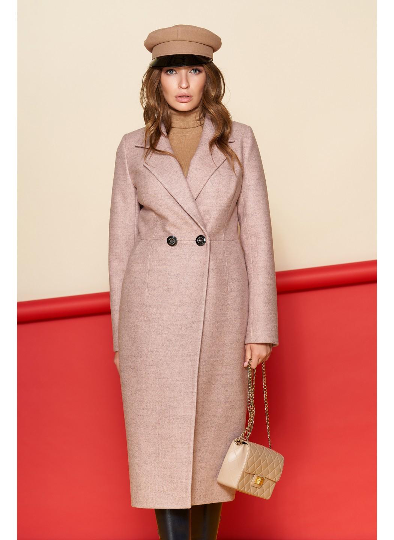 Женское Демисезонное Пальто Милана Шерсть Пудра купить в Украине: фото, цена, характеристики, отзывы