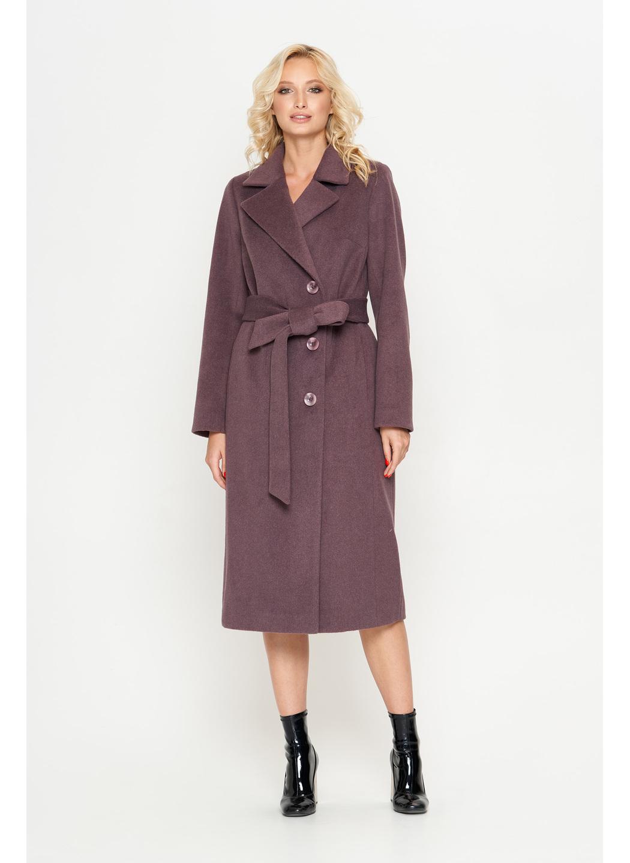Женское Демисезонное Пальто Мария Шерсть Фиолетовый купить в Украине: фото, цена, характеристики, отзывы - фото 1