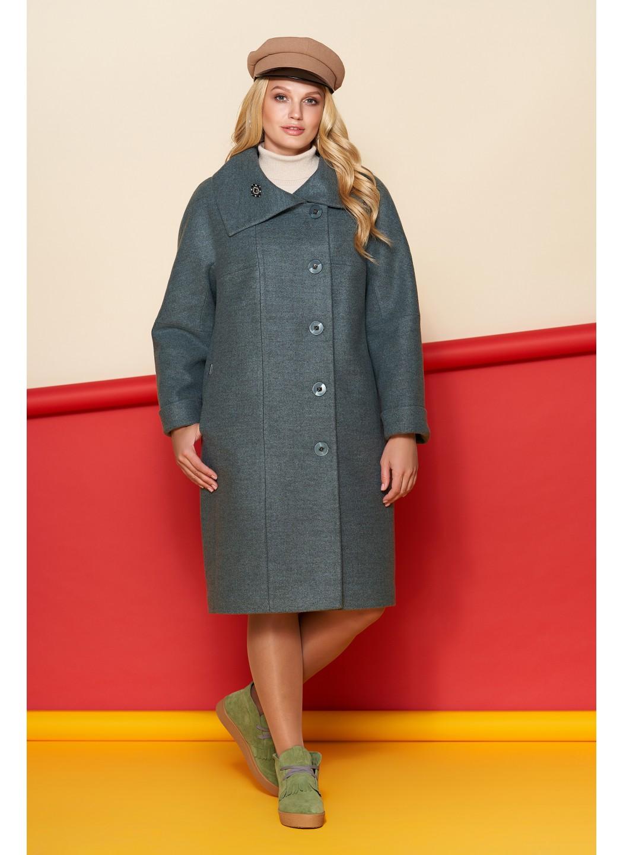 Пальто Лилия, шерсть, зима, оливковый купить в Украине: фото, цена, характеристики, отзывы - фото 1