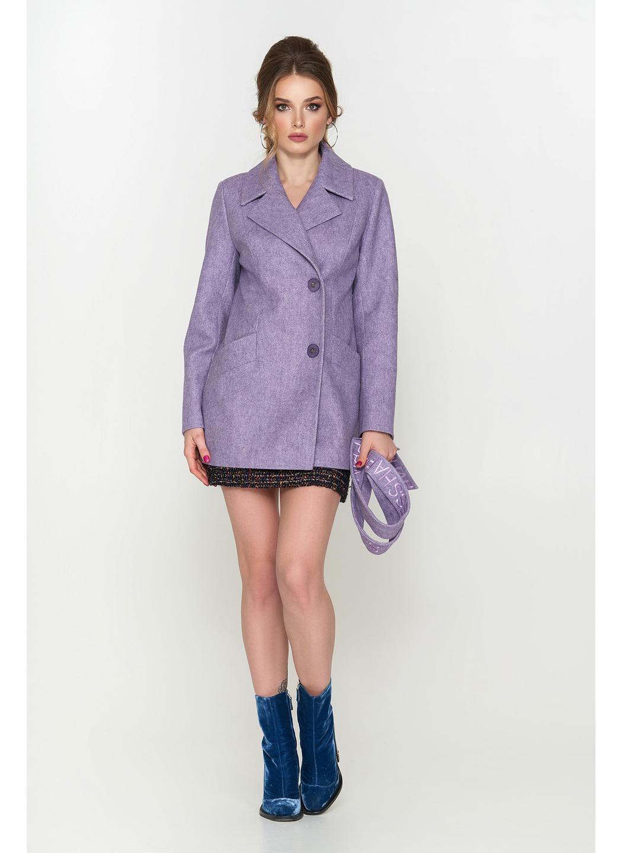 Женское Демисезонное Пальто Алина ёлка сирень 9904 купить в Украине: фото, цена, характеристики, отзывы - фото 2