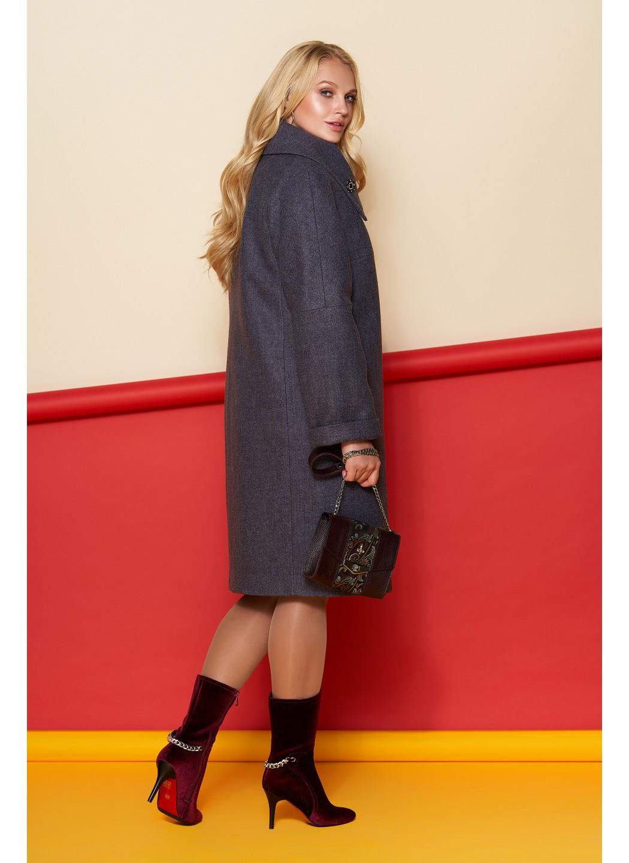 Пальто Лилия, шерсть, зима, фиолетовый купить в Украине: фото, цена, характеристики, отзывы - фото 3