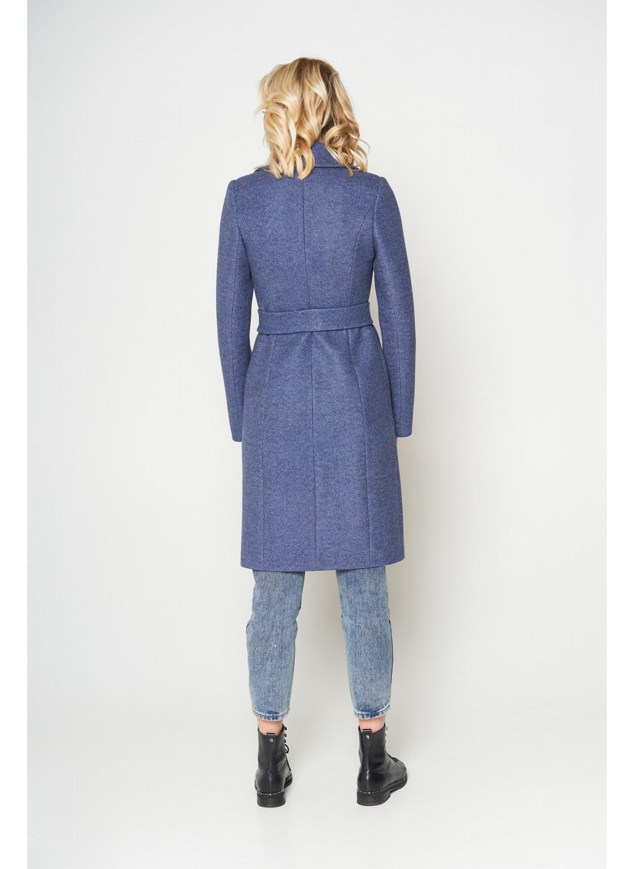Пальто Валерия, ш/е, темно-синий купить в Украине: фото, цена, характеристики, отзывы - фото 2