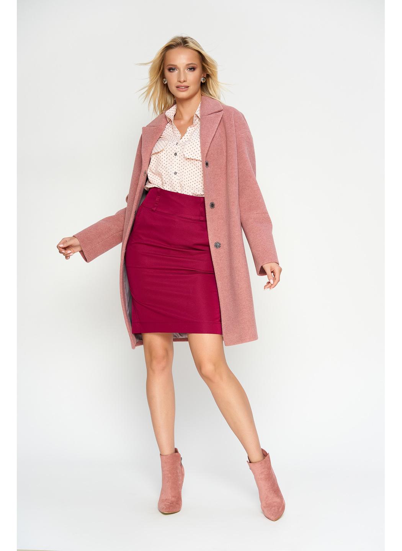 Женское Демисезонное Пальто Орнелла Шерсть Розовый купить в Украине: фото, цена, характеристики, отзывы - фото 1