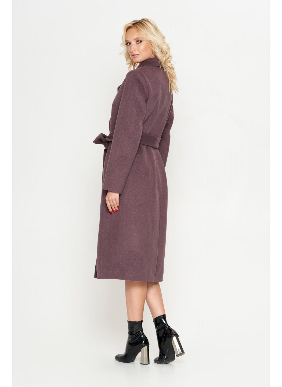 Женское Демисезонное Пальто Мария Шерсть Фиолетовый купить в Украине: фото, цена, характеристики, отзывы - фото 2