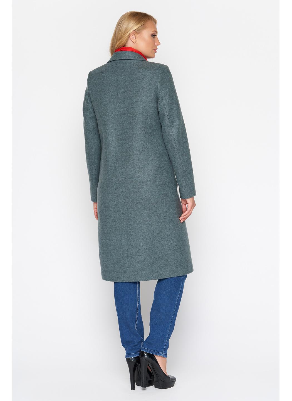 Женское Демисезонное Пальто Фиджи Шерсть Оливковый Длинное купить в Украине: фото, цена, характеристики, отзывы - фото 3
