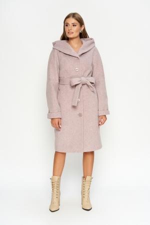 Пальто Лора, зима, жемчуг