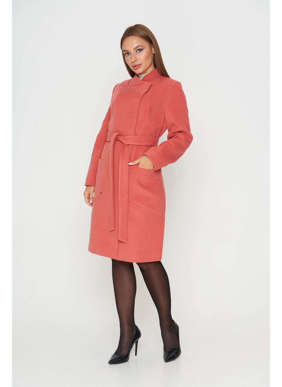 Женское Демисезонное Пальто Венеция Кашемир Помада купить в Украине: фото, цена, характеристики, отзывы - фото 1