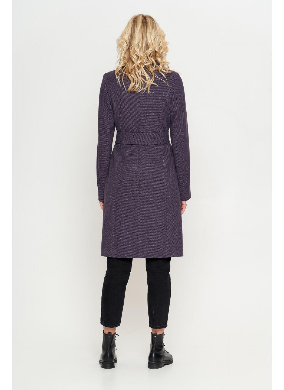 Пальто Валерия, диагональ, фиолет купить в Украине: фото, цена, характеристики, отзывы - фото 2