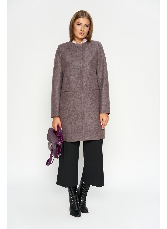 Пальто Диана, деми, шерсть, розовый купить в Украине: фото, цена, характеристики, отзывы - фото 3