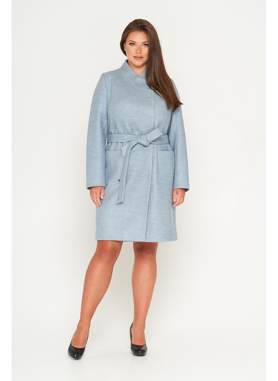 Женское Демисезонное Пальто Венеция Шерсть Бледно-голубой купить в Украине: фото, цена, характеристики, отзывы - фото 1