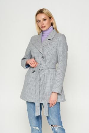 Пальто Марта серый 8803