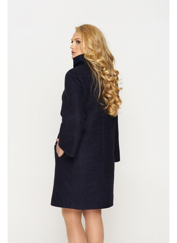 Пальто Лайма, шерсть, тёмно-синий купить в Украине: фото, цена, характеристики, отзывы - фото 2