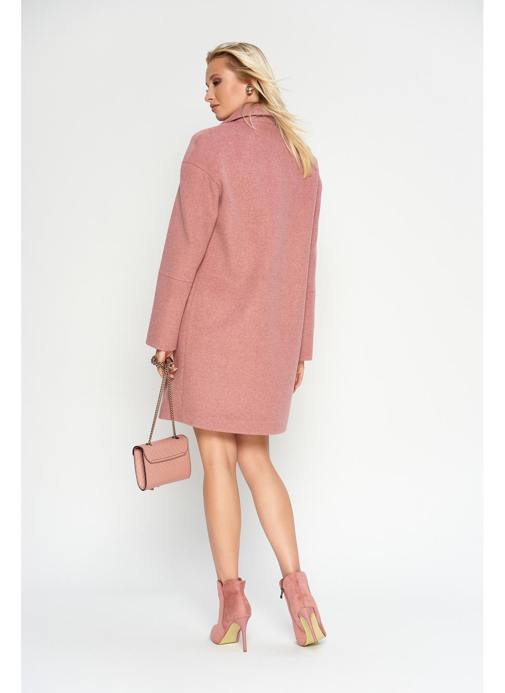 Женское Демисезонное Пальто Орнелла Шерсть Розовый купить в Украине: фото, цена, характеристики, отзывы - фото 2