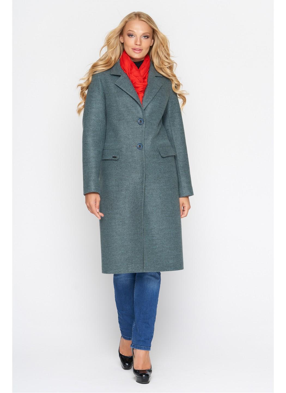 Женское Демисезонное Пальто Фиджи Шерсть Оливковый Длинное купить в Украине: фото, цена, характеристики, отзывы - фото 1