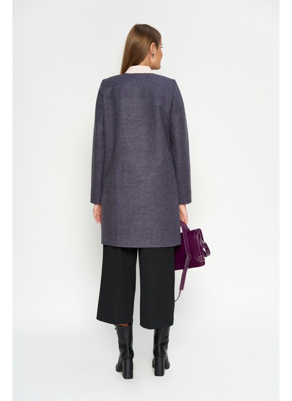 Пальто Диана, деми, шерсть, фиолетовый купить в Украине: фото, цена, характеристики, отзывы - фото 2