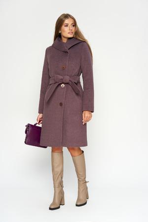 Пальто Варшава, зима, фиолет