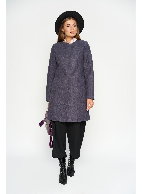 Пальто Диана, деми, шерсть, фиолетовый купить в Украине: фото, цена, характеристики, отзывы - фото 3