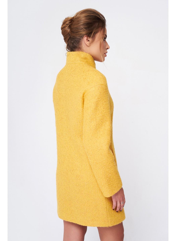 Пальто Меланка, деми, букле, желтый купить в Украине: фото, цена, характеристики, отзывы - фото 2