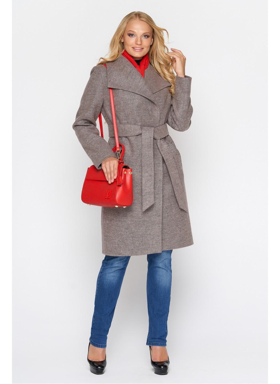 Пальто Валерия, шерсть, розовый купить в Украине: фото, цена, характеристики, отзывы - фото 1