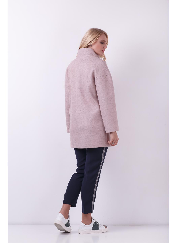 Женское Демисезонное Пальто Мика Шерсть Пудра купить в Украине: фото, цена, характеристики, отзывы - фото 2
