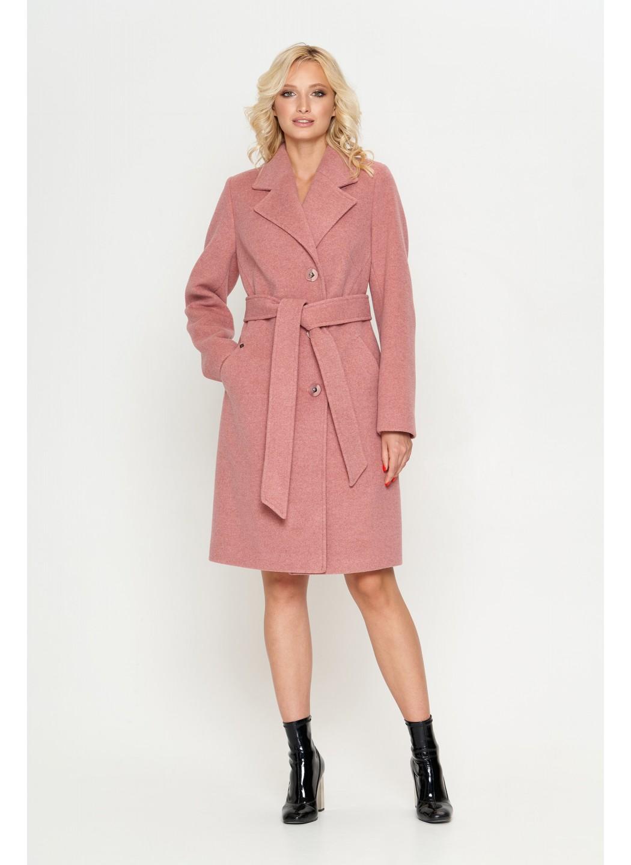 Пальто Лия, деми, розовый  купить в Украине: фото, цена, характеристики, отзывы - фото 1