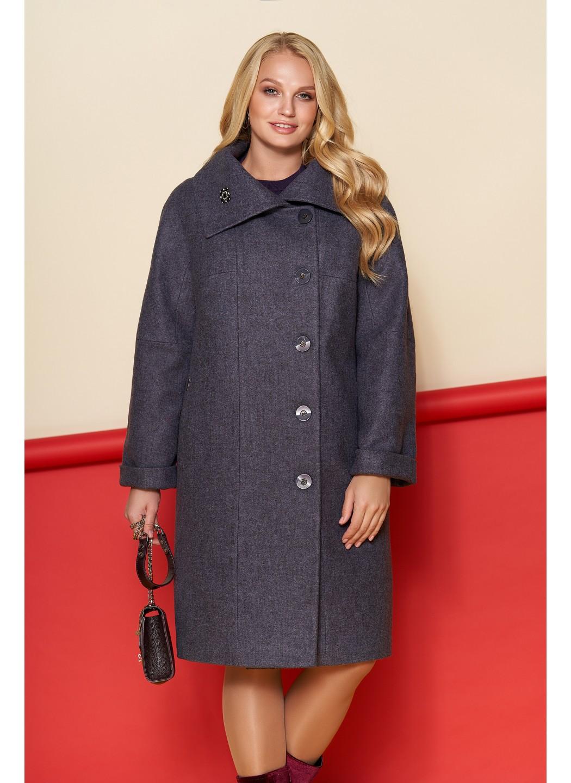 Пальто Лилия, шерсть, зима, фиолетовый купить в Украине: фото, цена, характеристики, отзывы - фото 2