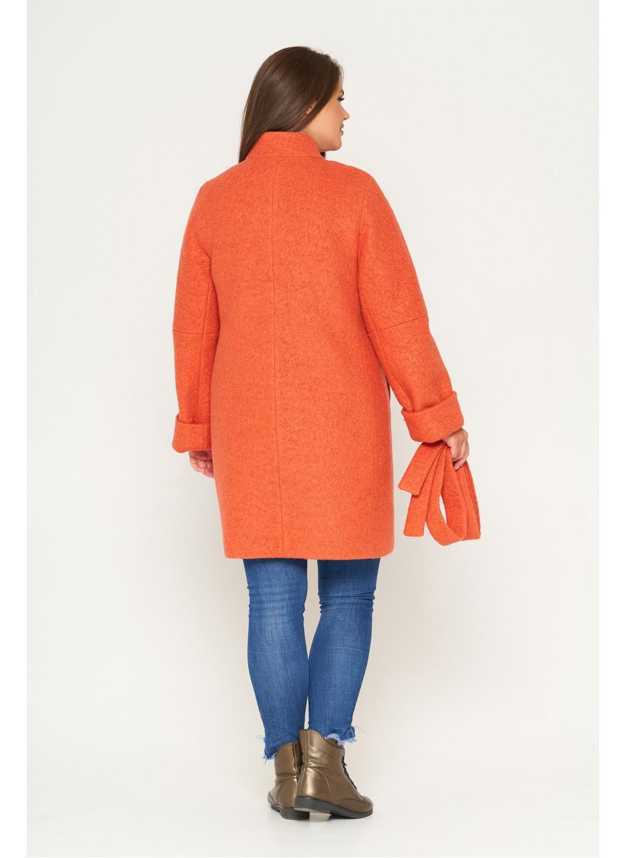 Женское Зимнее Пальто Шарлотта Букле Оранжевый купить в Украине: фото, цена, характеристики, отзывы - фото 2