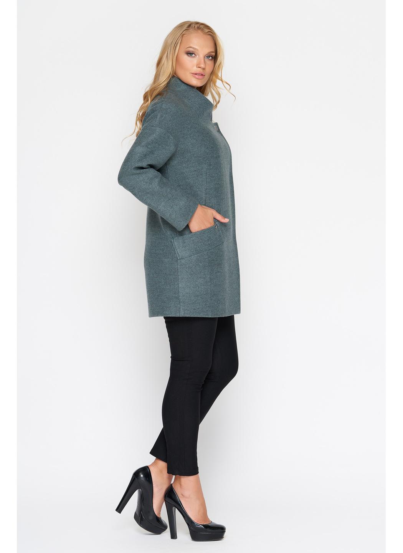 Пальто Мика, шерсть, оливковый купить в Украине: фото, цена, характеристики, отзывы - фото 2